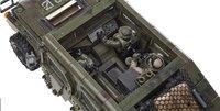 Mega Bloks Call of Duty Véhicule blindé et soldats-Vue du haut