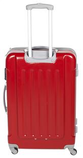 Transworld Valise rigide Rome Spinner rouge 70 cm-Arrière