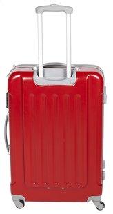 Transworld Harde reistrolley Rome Spinner rood 70 cm-Achteraanzicht