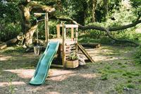 Plum houten speelhuisje Discovery Woodland-Afbeelding 1