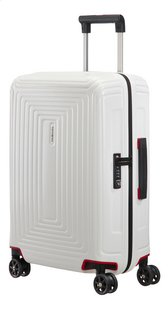 Samsonite Harde reistrolley Neopulse Spinner matte white 55 cm