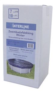 Interline winterafdekzeil Diana diameter 4,90 m-Rechterzijde