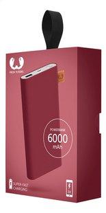 Fresh 'n Rebel Lader Powerbank 6000 mAh Ruby-Rechterzijde