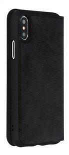 Foliocover Black Rock The Statement pour iPhone X/Xs noir-Arrière