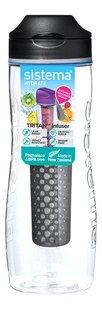Sistema Drinkfles Hydrate Tritan Infuser zwart 80 cl-Artikeldetail