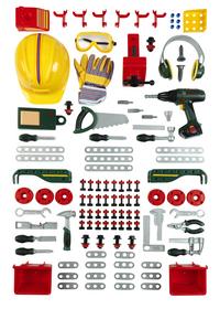 Bosch mini établi avec 150 accessoires-Détail de l'article