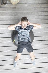 Kettler Gymnastiekbal Basic 75 cm zwart-Afbeelding 1