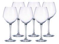 Chef & Sommelier 6 verres à vin rouge Cabernet Young Wines 47 cl-Avant