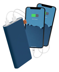 Fresh 'n Rebel Lader Powerbank 12000 mAh Indigo-Afbeelding 1