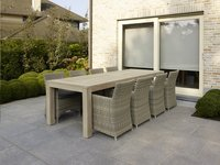 Table de jardin Lens Grey Wash 280 x 100 cm-Image 1