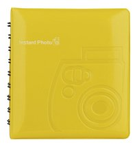 Fujifilm album photos instax mini 64 photos jaune