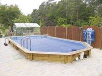 Interline bâche d'été pour piscine Spruce diamètre 4,40 m