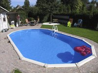 Interline ensemble piscine Diana L 7,30 x Lg 3,60 m