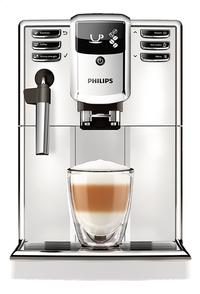 Philips Machine à espresso automatique avec mousseur à lait Series 5000 EP5311/10 blanc-commercieel beeld