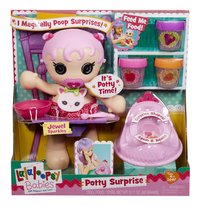 Lalaloopsy Babies poupée Potty Surprise Jewel Sparkles-Avant