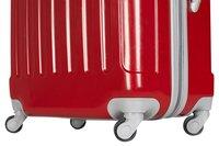 Transworld Valise rigide Rome Spinner rouge 70 cm-Détail de l'article