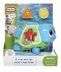 Little Tikes Lil' Ocean Explorers Crawl 'n Pop! Turtle-Vooraanzicht