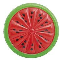 Intex luchtmatras voor 2 personen Mega watermeloen groen/rood