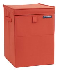 Brabantia Corbeille à linge empilable rouge 35 l