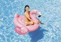Intex luchtmatras Flamingo roze-Afbeelding 1