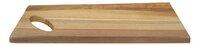 Dagelijkse kost Dienblad houtkleur licht L 38 x B 17 cm-Vooraanzicht