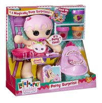 Lalaloopsy Babies poupée Potty Surprise Jewel Sparkles-Côté gauche