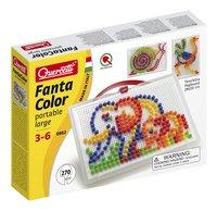 Quercetti mosaïques Fanta Color portable large 270 pièces