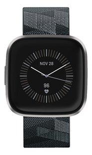 Fitbit montre connectée Versa 2 Special Edition tissé gris-Avant