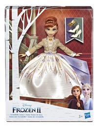 Poupée mannequin  Disney La Reine des Neiges II Arendelle tenue de luxe Anna-Avant