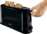 Philips broodrooster Daily HD2589/90 zwart-Afbeelding 1