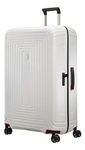 Samsonite Harde reistrolley Neopulse Spinner matte white 81 cm