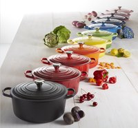 Le Creuset ronde stoofpan Signature cassis-Afbeelding 1