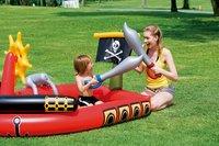 Bestway opblaasbaar speelcenter Piratenboot met waterkanon-Afbeelding 1
