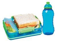 Sistema boîte à tartines et gourde Lunch Pack 330 ml bleu-Image 1