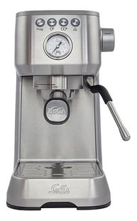 Solis Espressomachine Barista Perfetta Plus 980.07 type 1170 zilver-Vooraanzicht