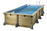 Ubbink piscine en bois Linea 3,50 x 5,05 m