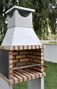 Movelar barbecue au charbon de bois Brick Zon-Image 1