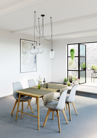 Mistral Home Tafellaken Uniline walnut 160 x 270 cm-Afbeelding 4