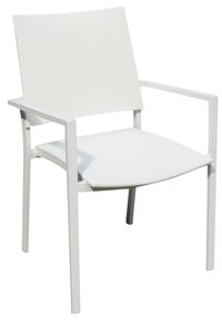 Chaise de jardin Magic blanc-Avant