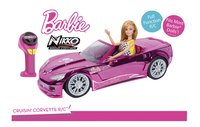Nikko auto RC Barbie Crusin' Corvette