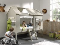 Bed Boomhut Charlotte taupe-Afbeelding 1