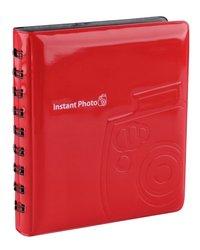 Fujifilm fotoalbum Instax mini 64 foto's rood