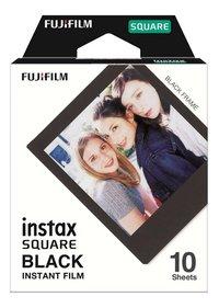 Fujifilm 10 photos Black Frame pour Instax SQUARE-Avant