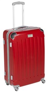 Transworld Harde reistrolley Rome Spinner rood 70 cm-Vooraanzicht