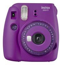 Fujifilm fototoestel Instax mini 9 Clear Purple-Vooraanzicht