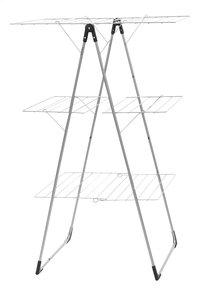 Brabantia Séchoir-tour avec 3 surfaces d'étendage metallic grey