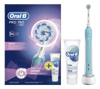 Oral-B Brosse à dents Pro 780 Blue 3D Sensi UltraThin-Détail de l'article