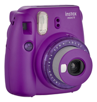 Fujifilm fototoestel Instax mini 9 Clear Purple-Linkerzijde