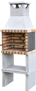 Movelar barbecue au charbon de bois Brick Zon-Avant
