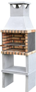 Movelar houtskoolbarbecue Brick Zon